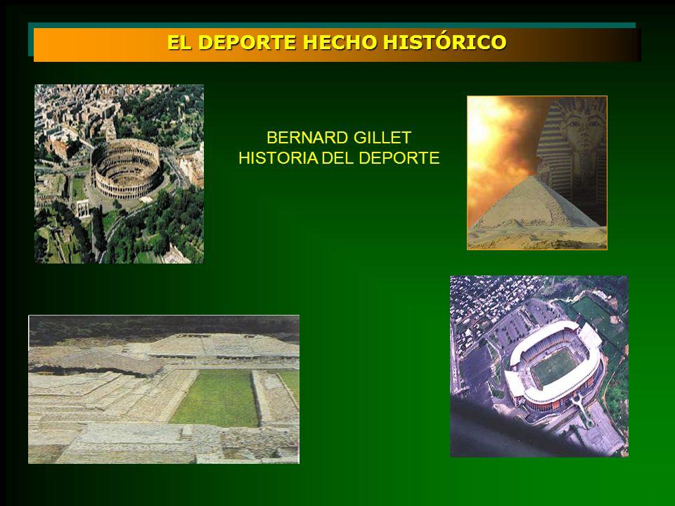 EL DEPORTE HECHO HISTÓRICO