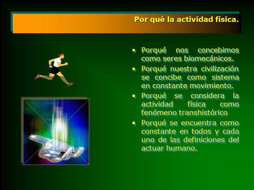 Por qué la actividad física.