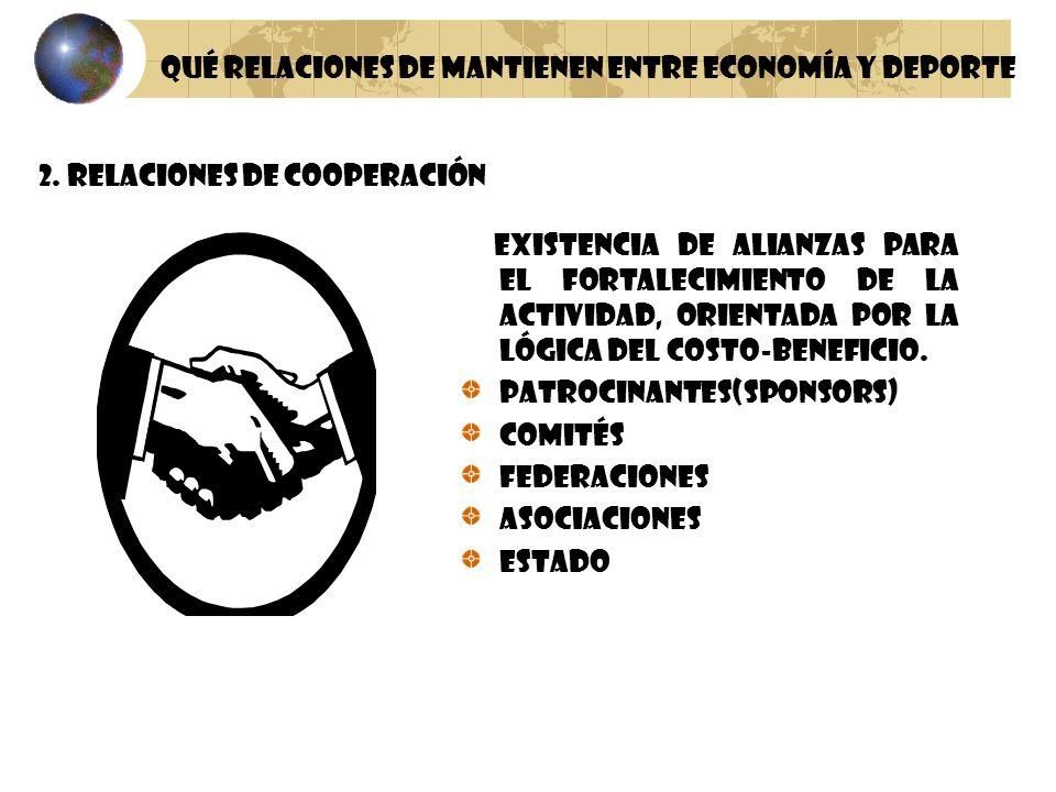 2. Relaciones de Cooperación