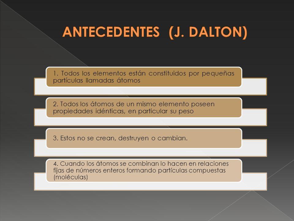 ANTECEDENTES (J. DALTON)