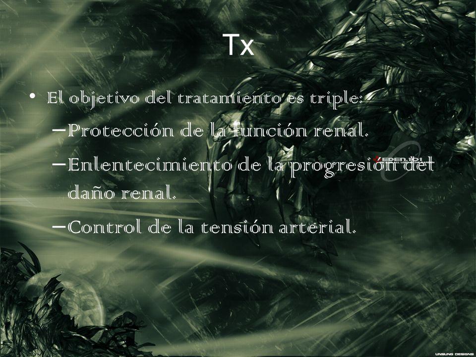 Tx Protección de la función renal.
