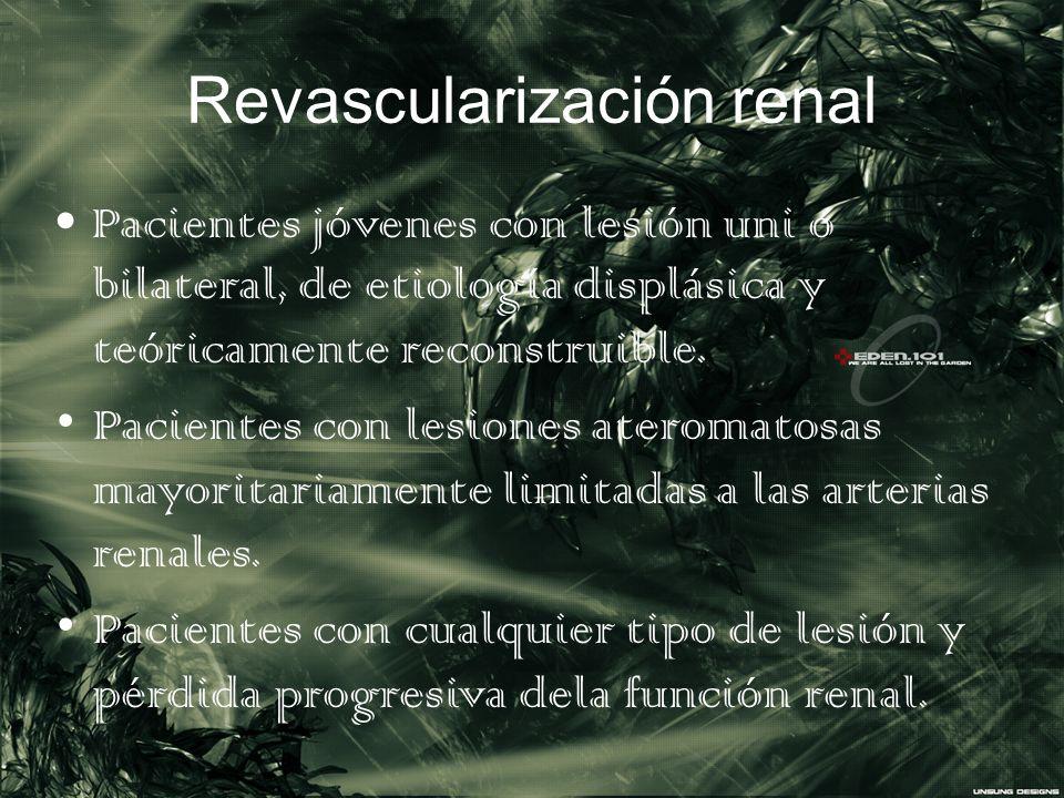 Revascularización renal