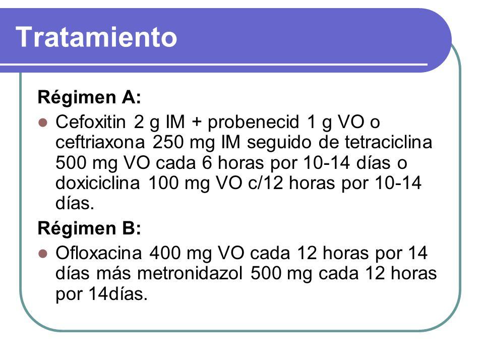 Tratamiento Régimen A: