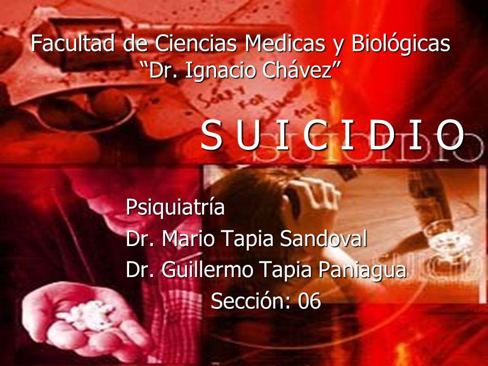 Facultad de Ciencias Medicas y Biológicas Dr. Ignacio Chávez