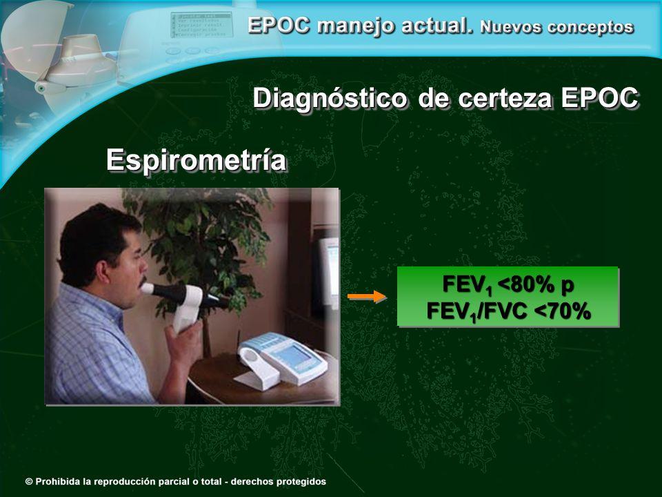 Diagnóstico de certeza EPOC