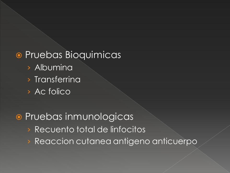 Pruebas inmunologicas