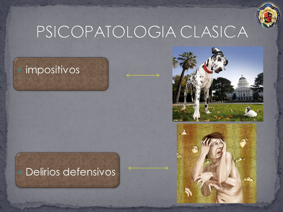 PSICOPATOLOGIA CLASICA