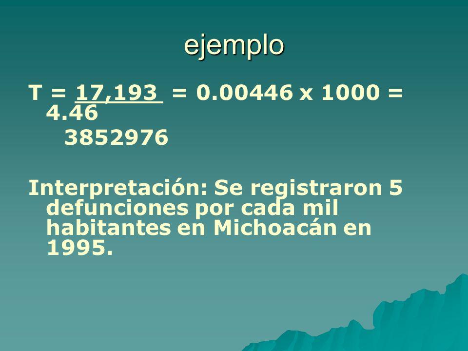 ejemploT = 17,193 = 0.00446 x 1000 = 4.46.3852976.