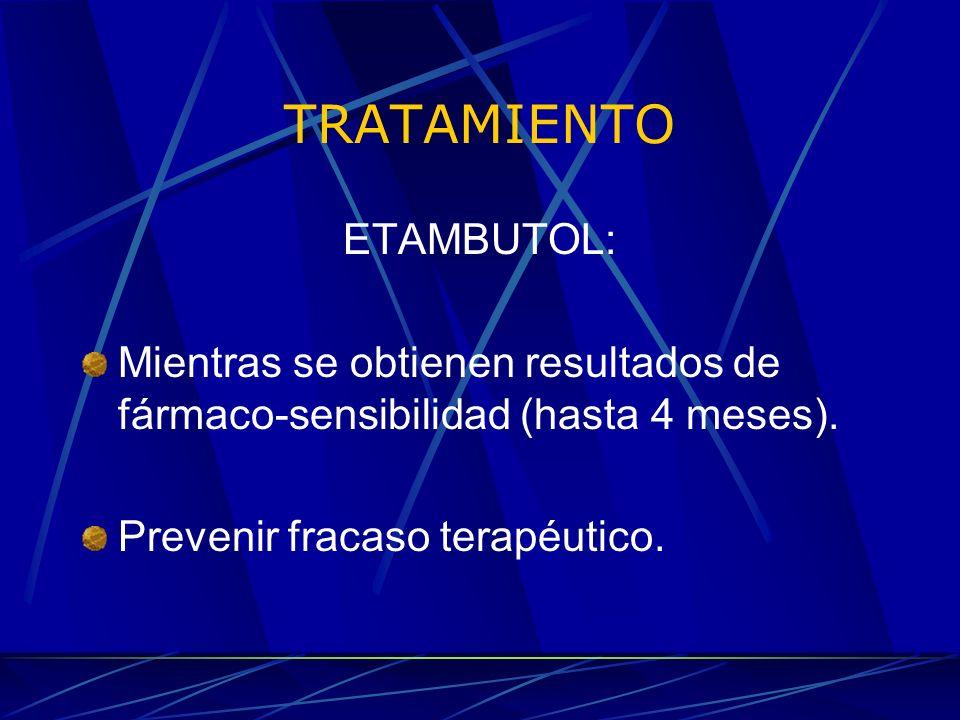TRATAMIENTO ETAMBUTOL: