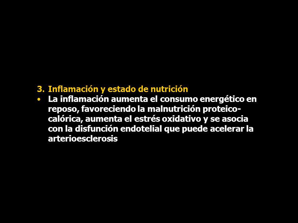 Inflamación y estado de nutrición
