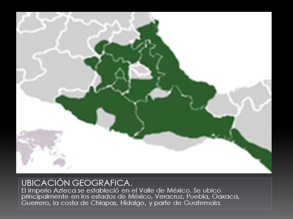 UBICACIÓN GEOGRAFICA.