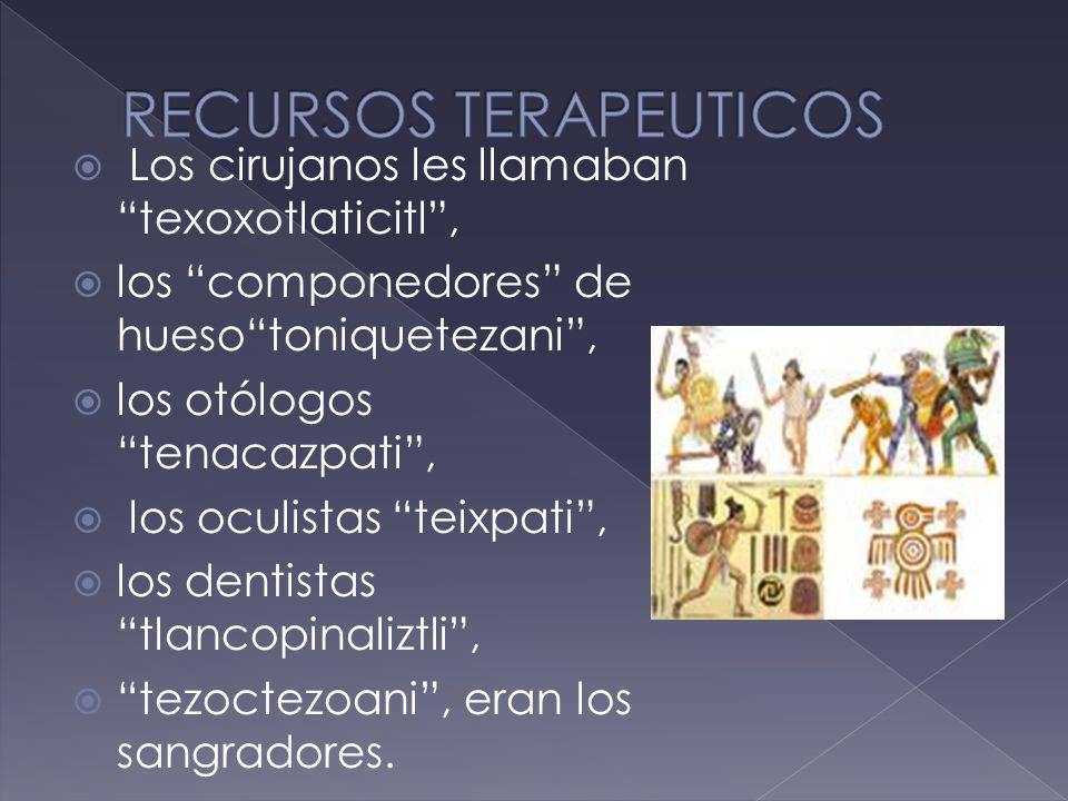 RECURSOS TERAPEUTICOS
