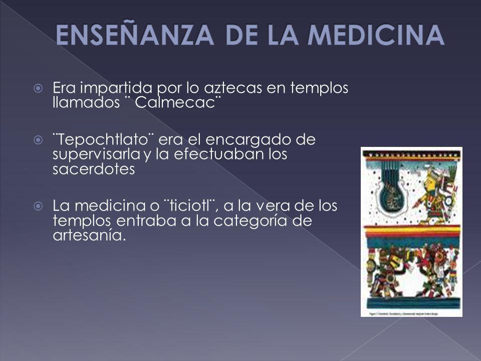 ENSEÑANZA DE LA MEDICINA