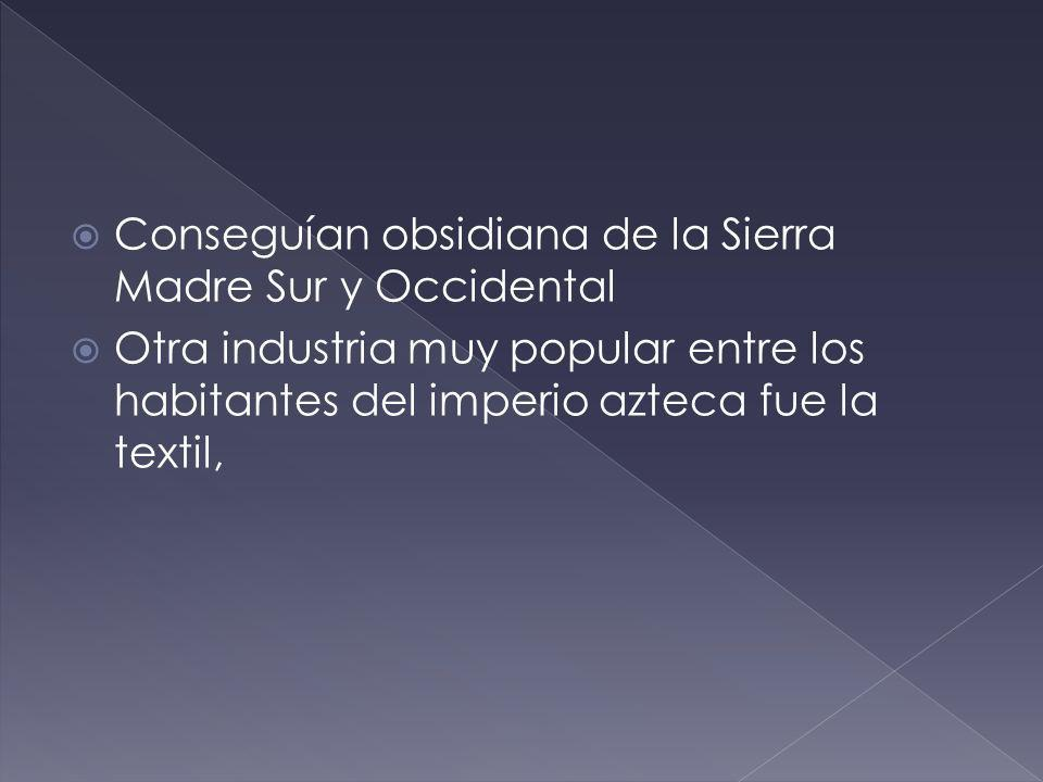 Conseguían obsidiana de la Sierra Madre Sur y Occidental