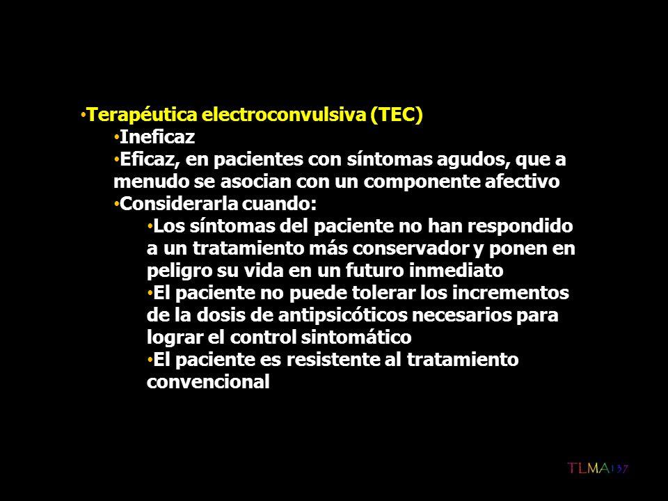 Terapéutica electroconvulsiva (TEC)