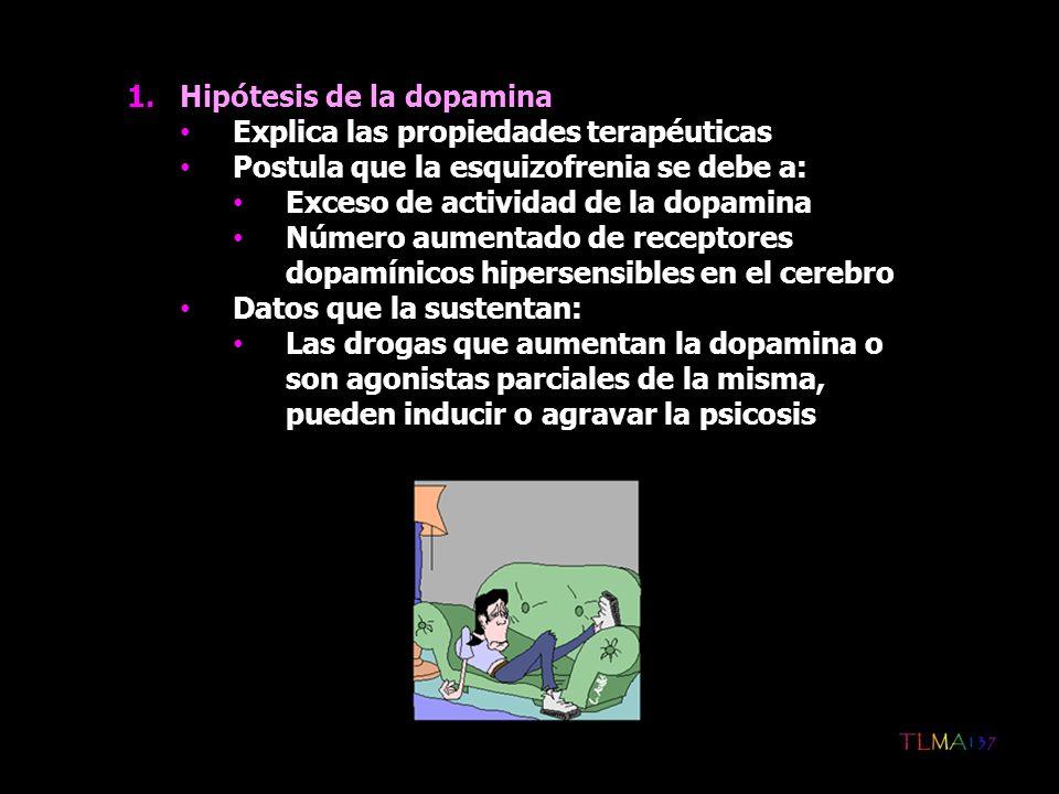 Hipótesis de la dopamina