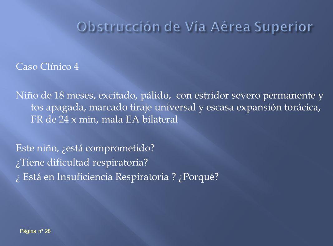 Obstrucción de Vía Aérea Superior