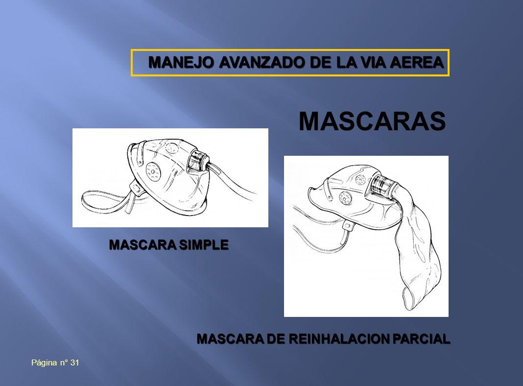 MASCARA DE REINHALACION PARCIAL