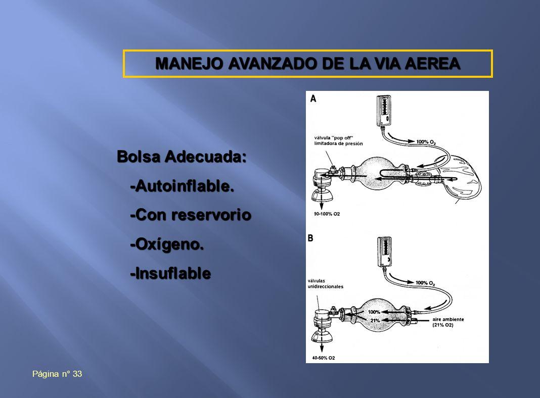 MANEJO AVANZADO DE LA VIA AEREA