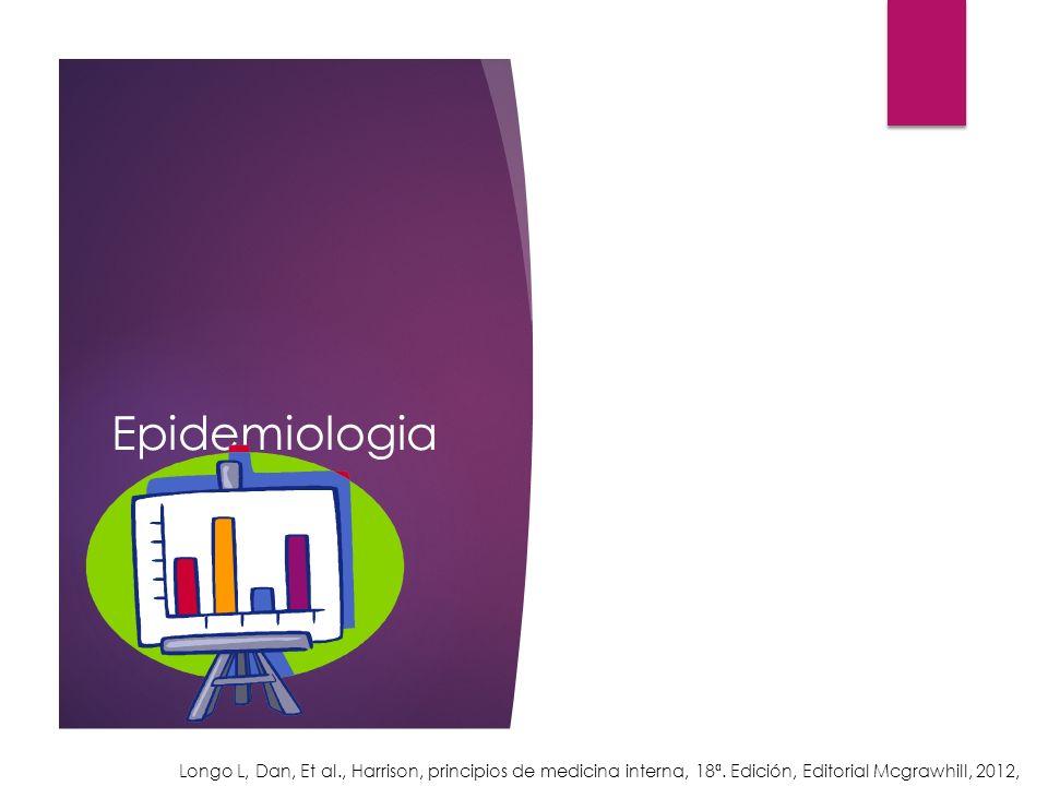 Epidemiologia Longo L, Dan, Et al., Harrison, principios de medicina interna, 18ª.