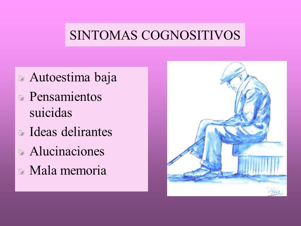 SINTOMAS COGNOSITIVOS