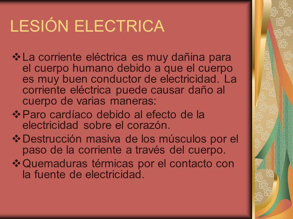 LESIÓN ELECTRICA