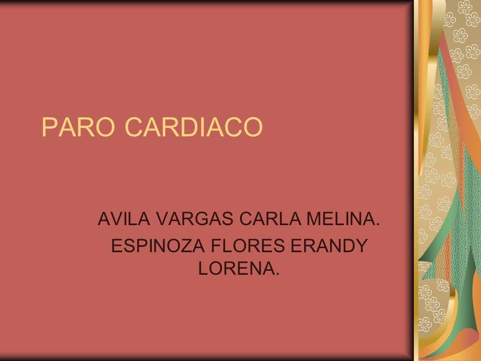 AVILA VARGAS CARLA MELINA. ESPINOZA FLORES ERANDY LORENA.