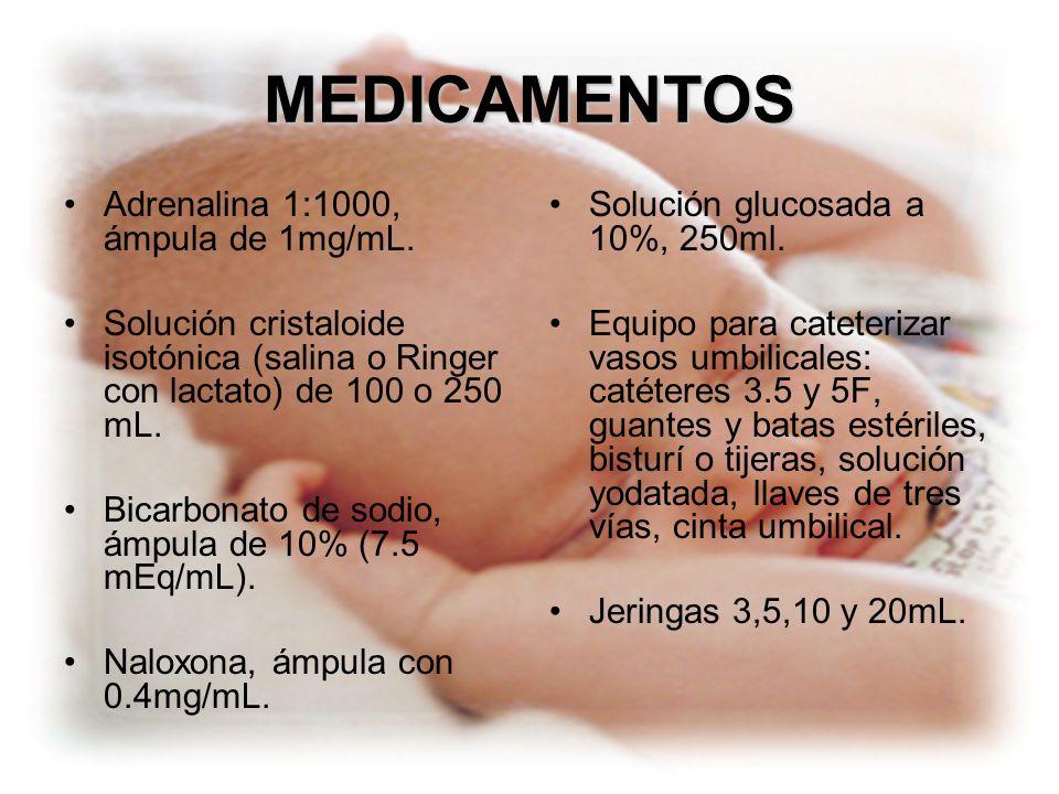 MEDICAMENTOS Adrenalina 1:1000, ámpula de 1mg/mL.