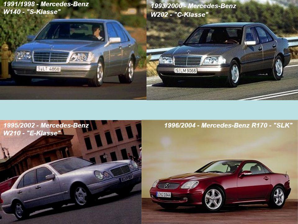 1991/1998 - Mercedes-Benz W140 - S-Klasse