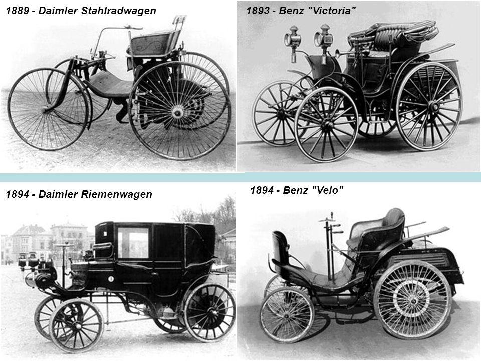 1889 - Daimler Stahlradwagen