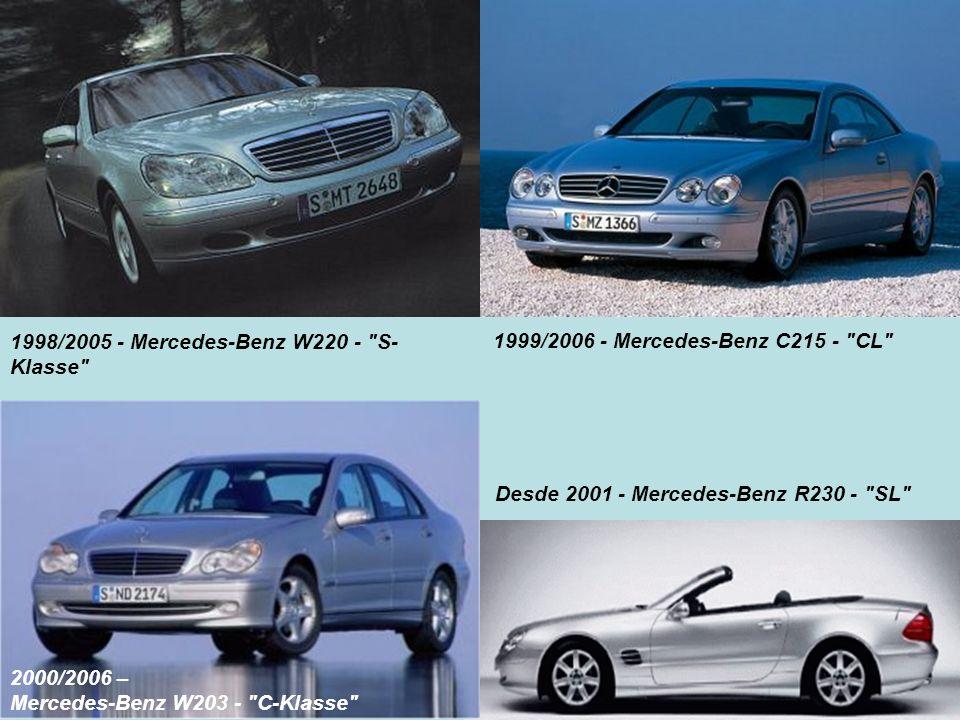 1998/2005 - Mercedes-Benz W220 - S-Klasse