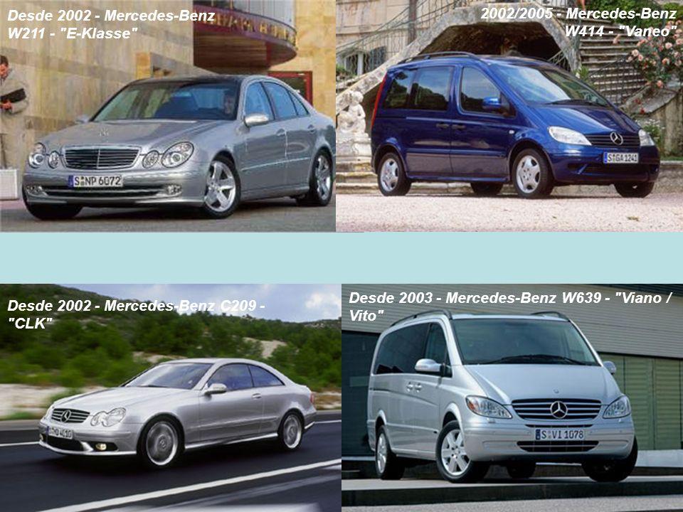 Desde 2002 - Mercedes-Benz W211 - E-Klasse