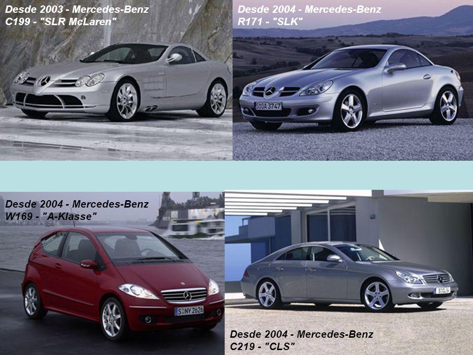 Desde 2003 - Mercedes-Benz C199 - SLR McLaren