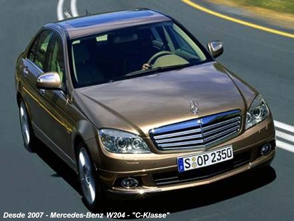 Desde 2007 - Mercedes-Benz W204 - C-Klasse