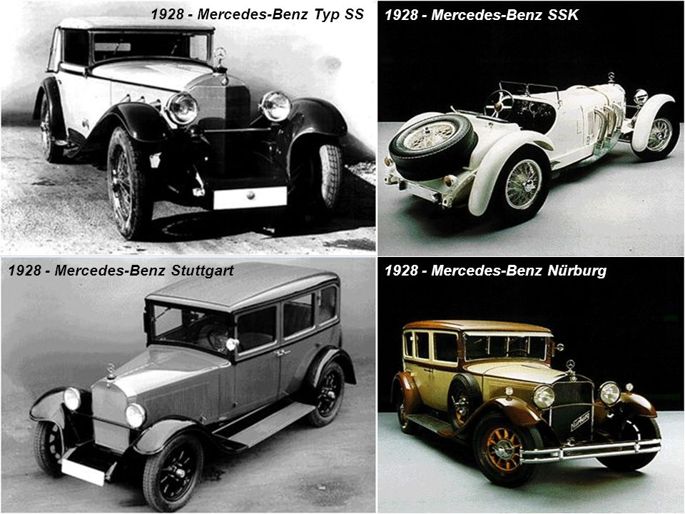 1928 - Mercedes-Benz Typ SS 1928 - Mercedes-Benz SSK.