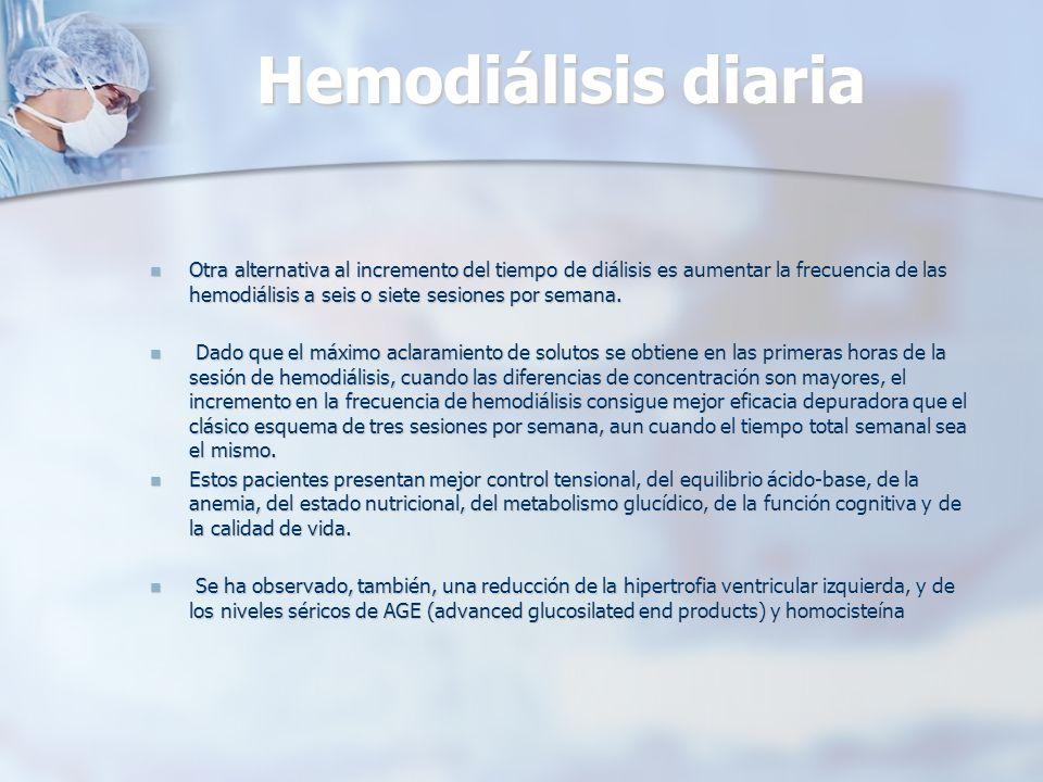 Hemodiálisis diaria