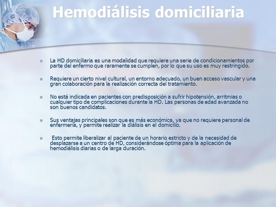 Hemodiálisis domiciliaria