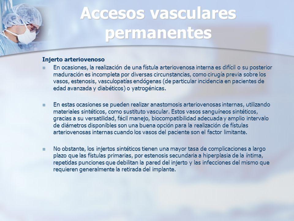 Accesos vasculares permanentes