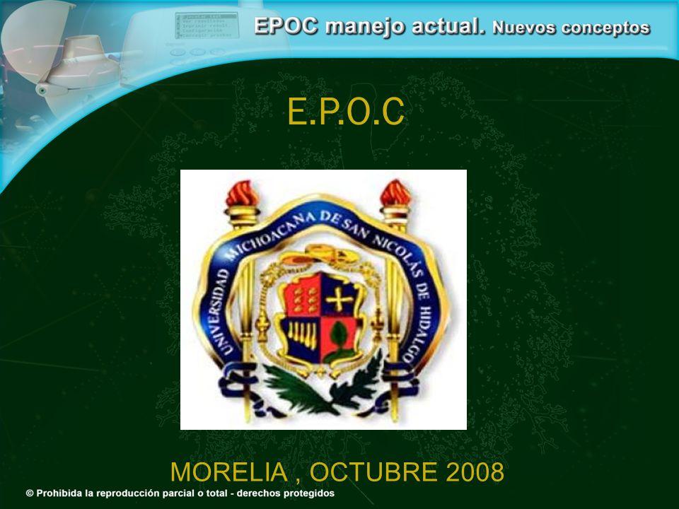 E.P.O.C MORELIA , OCTUBRE 2008