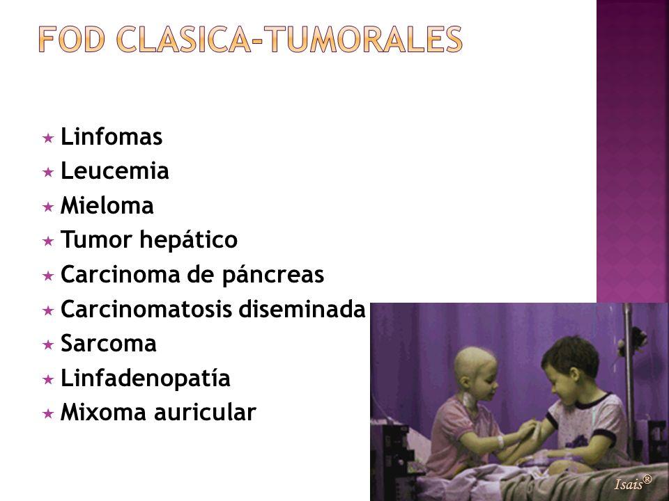 FOD CLASICA-TUMORALES