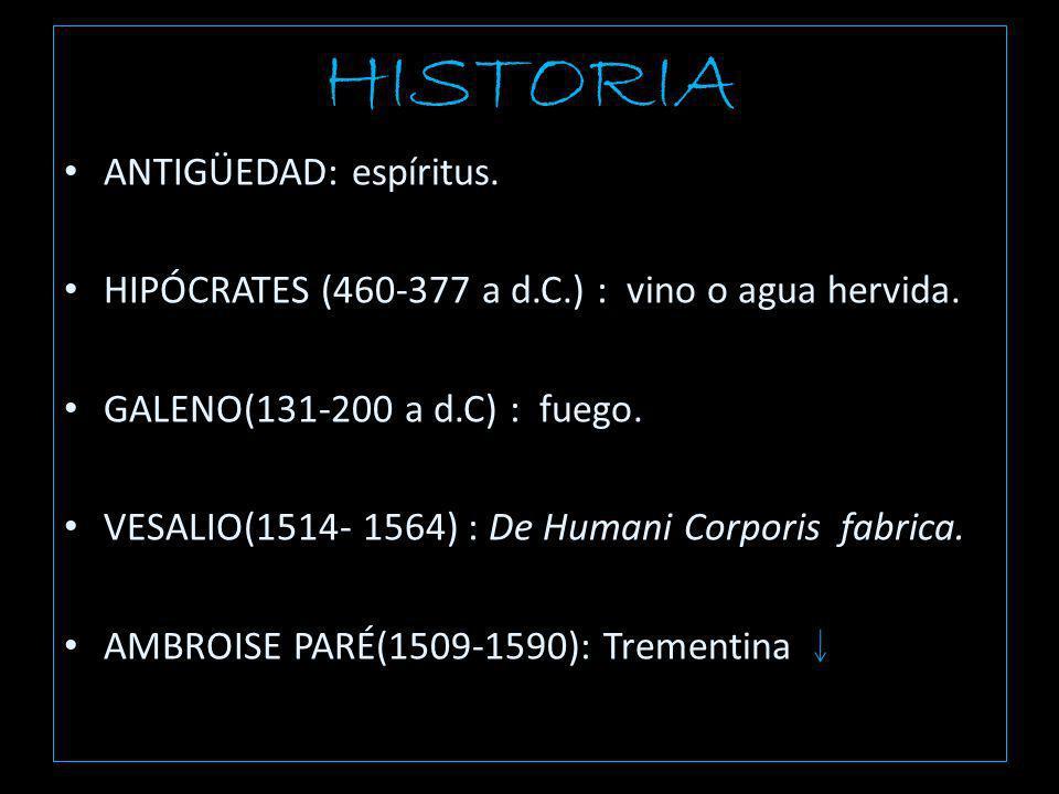 HISTORIA ANTIGÜEDAD: espíritus.