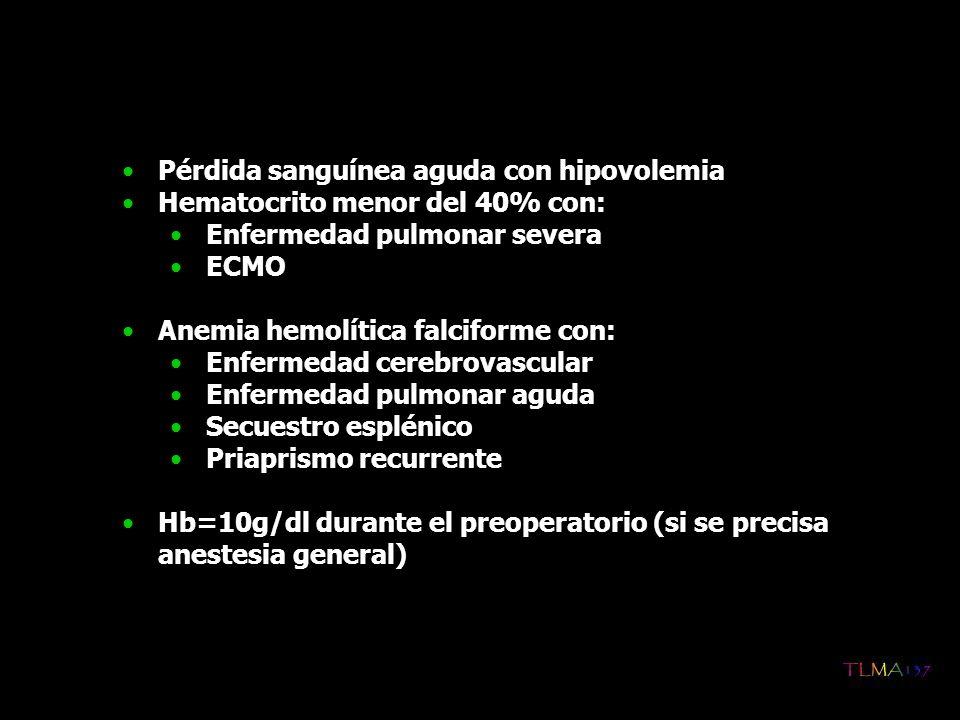 Pérdida sanguínea aguda con hipovolemia