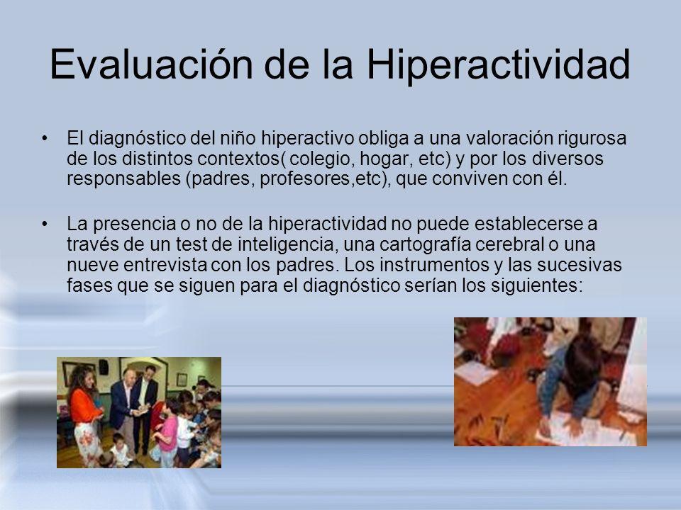 Evaluación de la Hiperactividad