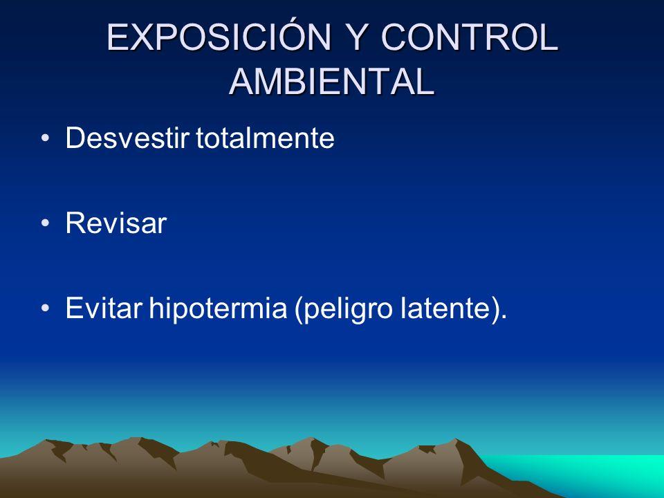 EXPOSICIÓN Y CONTROL AMBIENTAL
