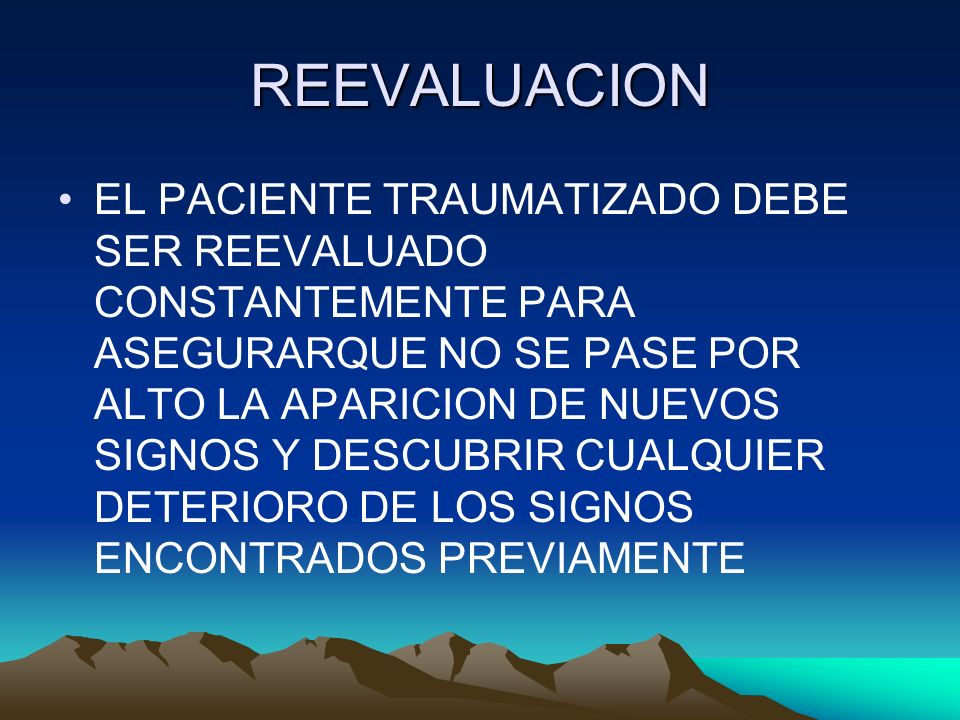 REEVALUACION