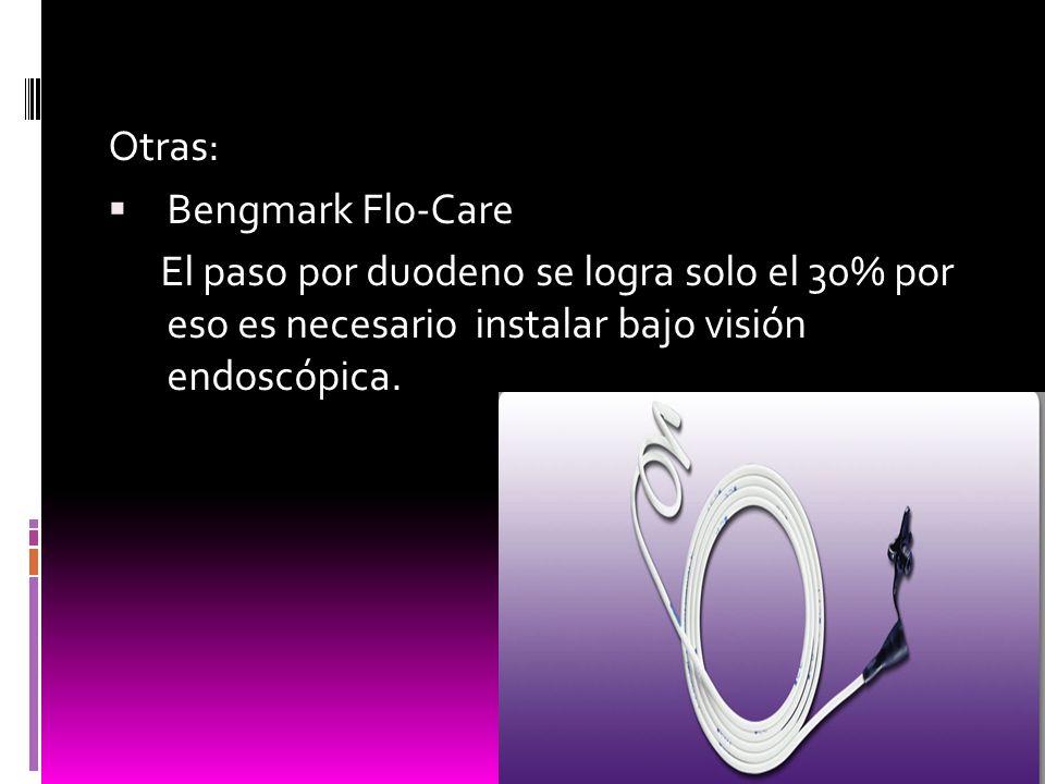 Otras: Bengmark Flo-Care.