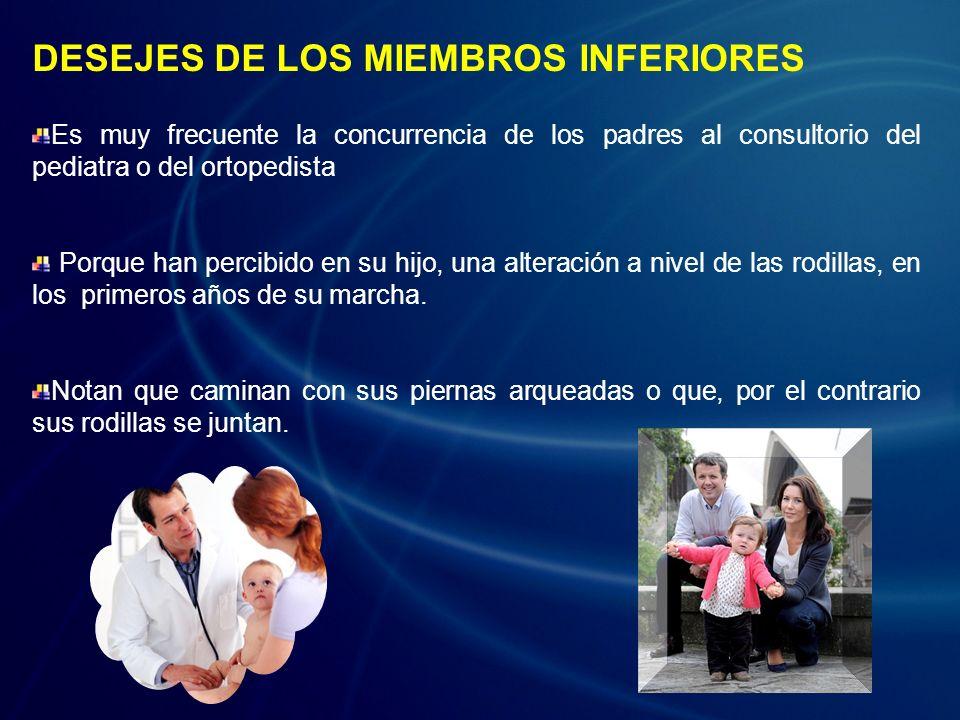 DESEJES DE LOS MIEMBROS INFERIORES