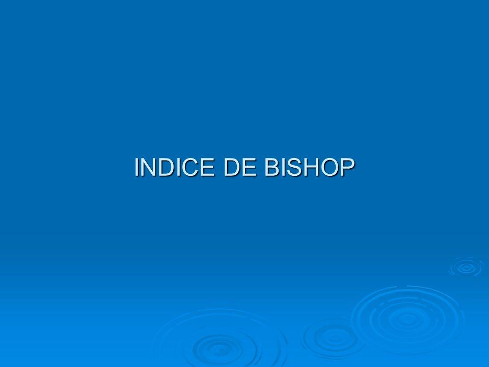 INDICE DE BISHOP