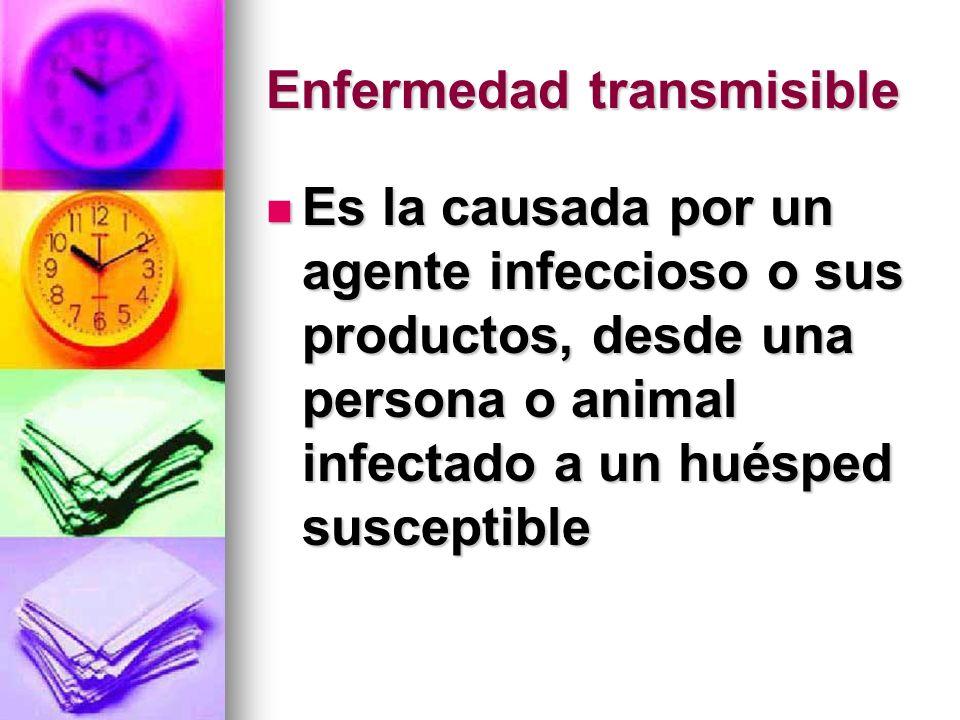 Enfermedad transmisible