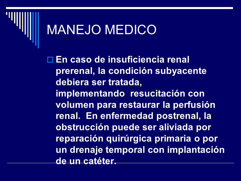 MANEJO MEDICO